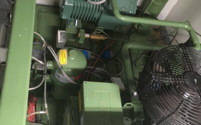 Onderhoud koelinstallatie vistrawler 'Lodairo' Bremerhaven